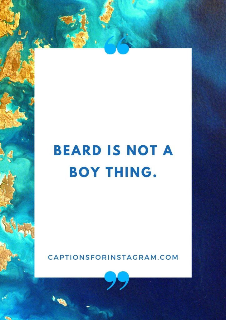 Best Beard Captions for Instagram