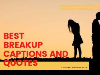 Best Breakup Captions & Quotes instagram pinterest