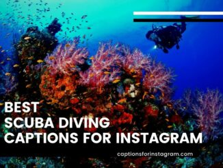 best Scuba diving captions