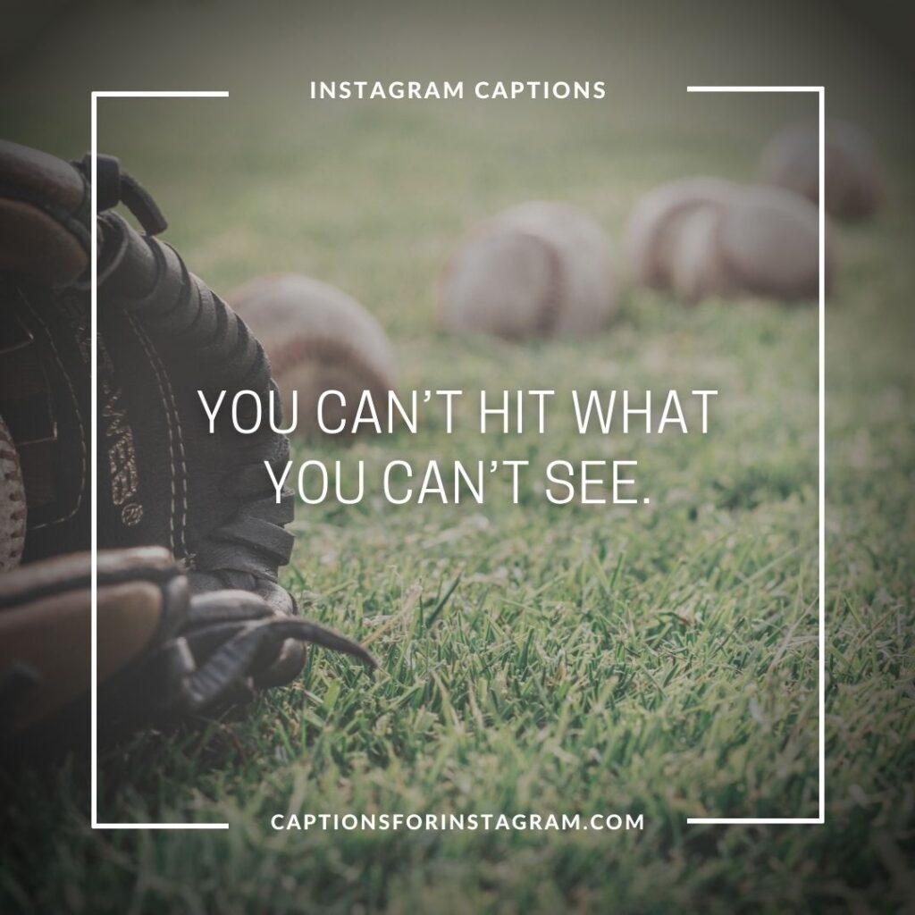best baseball captions