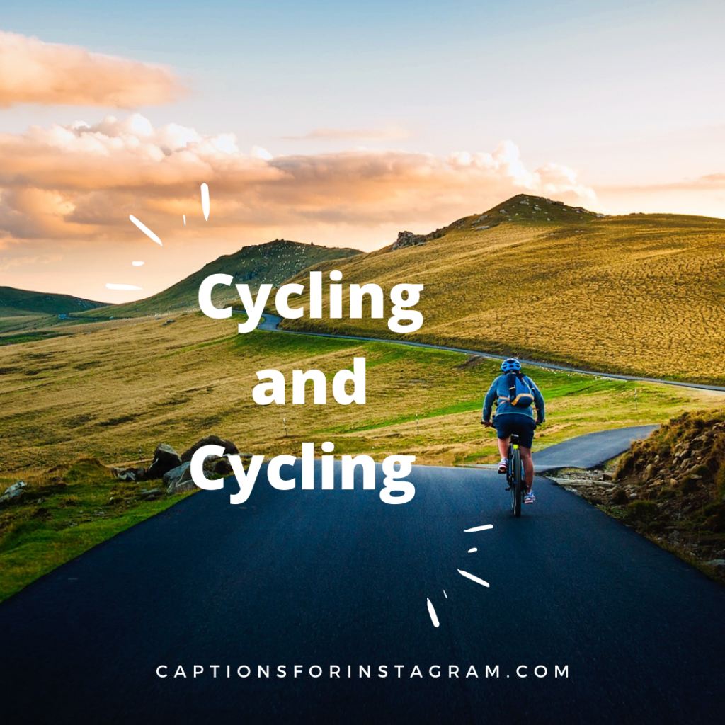 cycling and cycling