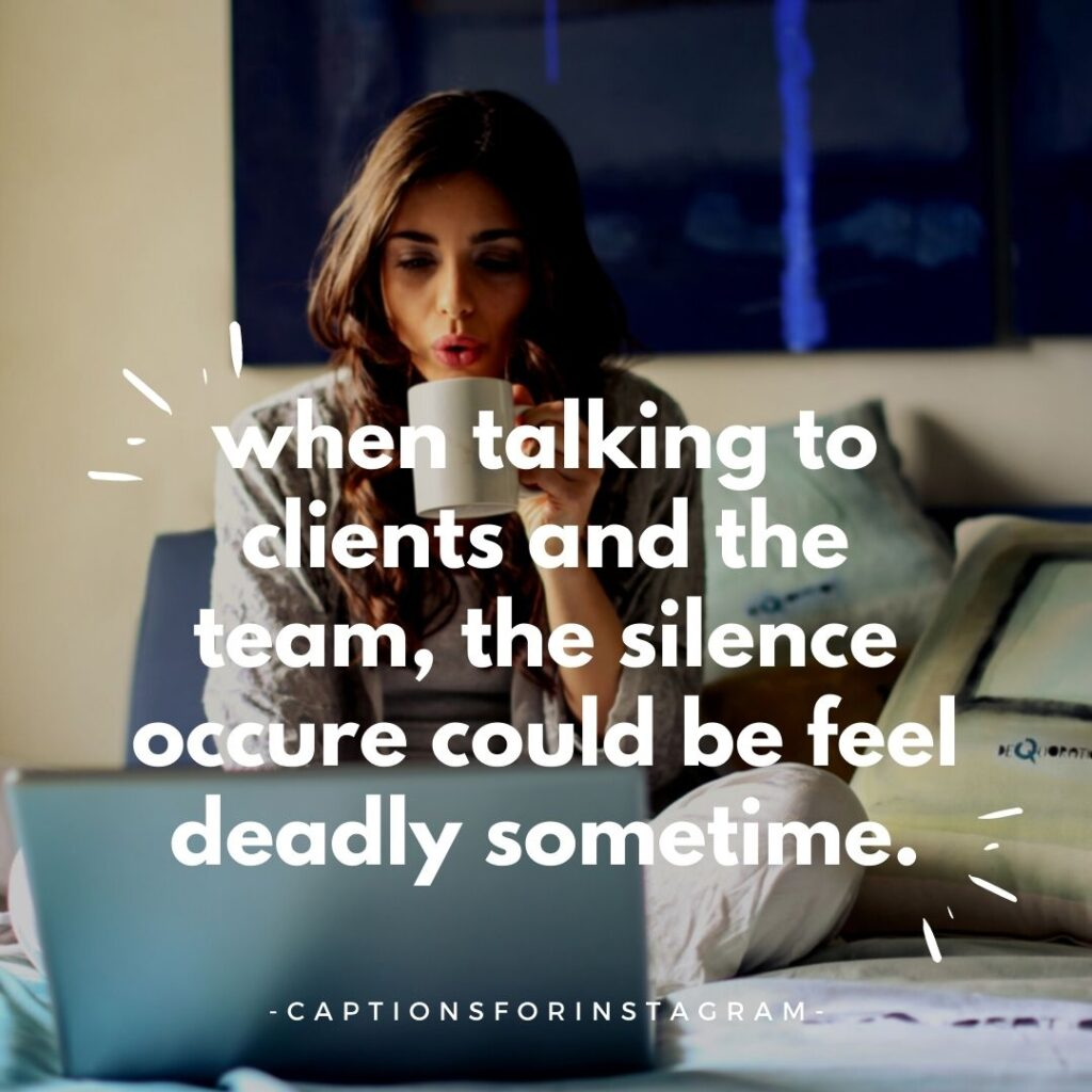 Work From Home Captions