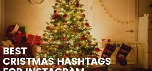 Best Cristmas hashtags for instagram